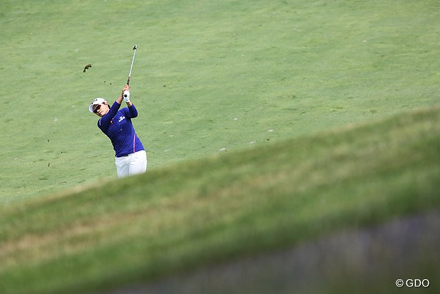 2015年 KPMG女子PGA選手権 初日 朴セリ 韓国のレジェンド、朴セリは最下位