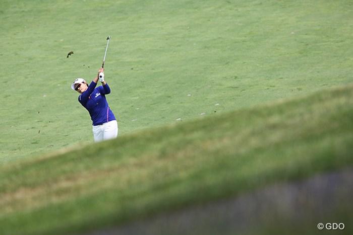 韓国のレジェンド、朴セリは最下位 2015年 KPMG女子PGA選手権 初日 朴セリ