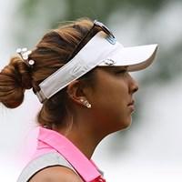 アリソン・リーはティをいっぱい刺してます! 2015年 KPMG女子PGA選手権 初日 アリソン・リー