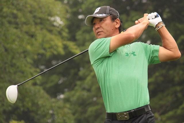 東聡が8バーディ1ボギーの「65」をマークし、7アンダー首位タイの好スタートを切った※画像提供:日本プロゴルフ協会