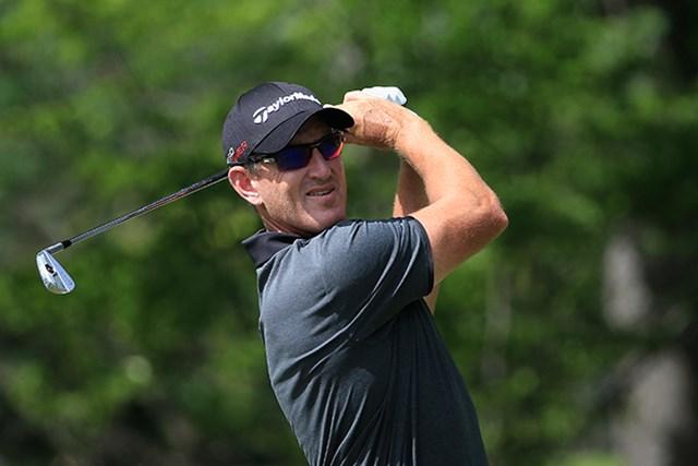 欧州ツアー1勝の43歳オーウェンが米ツアーでの初優勝を目指す(Sam Greenwood/Getty Images)