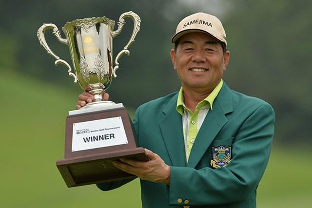室田淳が後続に4打差をつけ今季初優勝を決めた*日本プロゴルフ協会提供