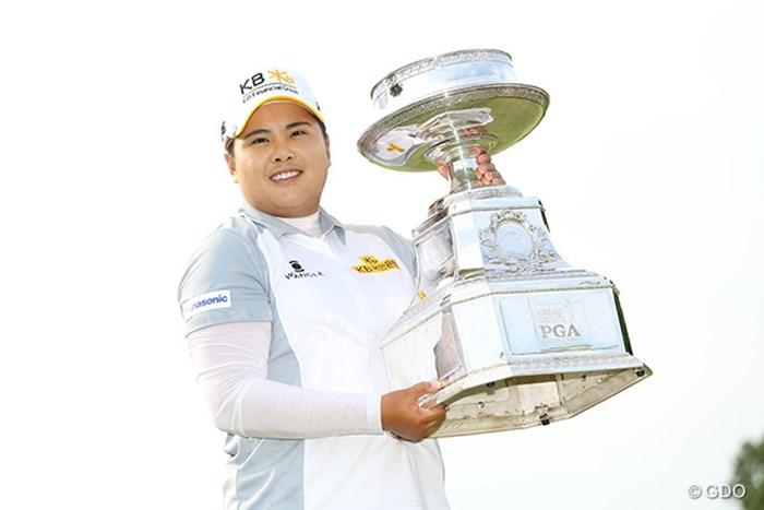 朴仁妃が史上2人目のメジャー大会3連覇を成し遂げた 2015年 KPMG女子PGA選手権 最終日 朴仁妃