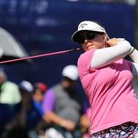 モーガン・プレッセルは5位タイ。優勝こそありませんが、今年は安定した成績を残しています。 2015年 KPMG女子PGA選手権 最終日 モーガン・プレッセル