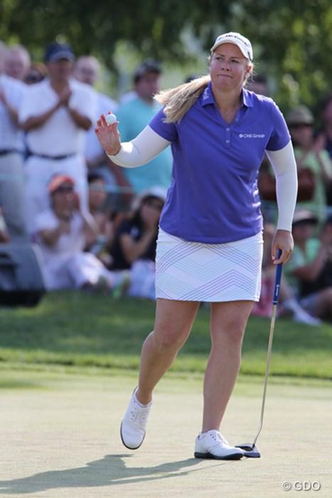 ANAインスピレーションで優勝したブリタニー・リンシコムは単独4位 2015年 KPMG女子PGA選手権 最終日 ブリタニー・リンシコム