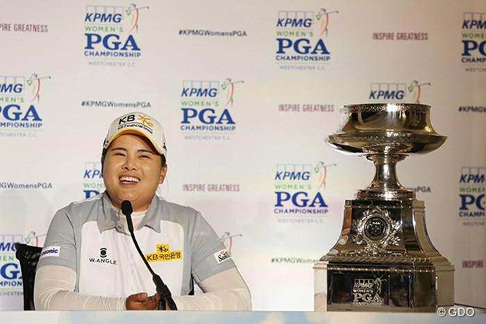 過去3年でメジャー5勝。近年のメジャー大会で圧倒的な強さを誇る朴仁妃 2015年 KPMG女子PGA選手権 最終日 朴仁妃