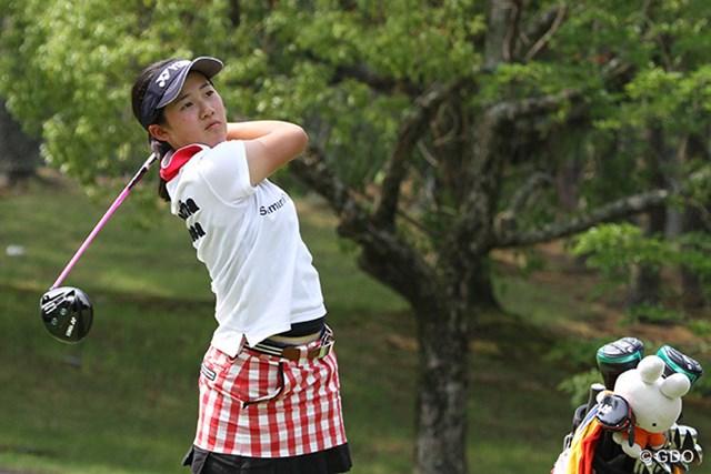 日本人史上最年少で全米女子オープン出場を決めた14歳の中3山口すず夏