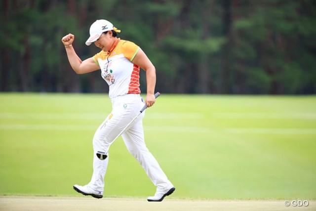 申ジエ 昨年は申ジエが日本ツアー4年ぶりの優勝を決めた