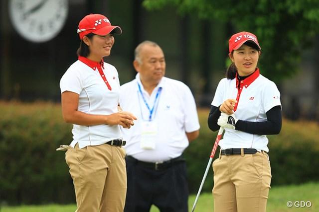 日本女子チームは大会連覇へ単独トップでスタート