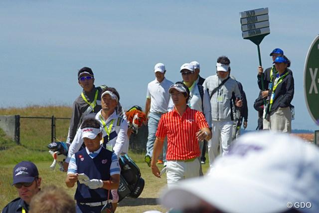 「調子は良さそうだった」とは、この日一緒に回った薗田峻輔の弁。石川遼は3年ぶり4度目の「全米オープン」に挑む