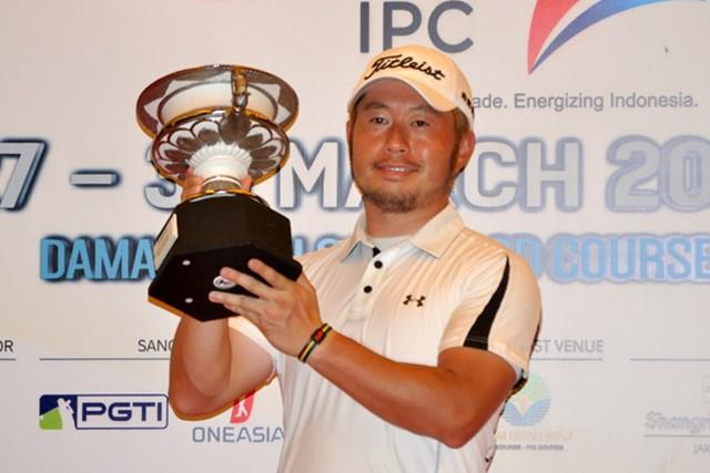 夏場のアジアシリーズの1試合が中止に。インドネシアPGA選手権は昨年、松村道央が優勝 ※画像提供JGTO