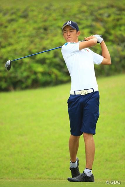 トヨタジュニアゴルフワールドカップ2015 2日目 ゼンジロウ・マツイ イタリア人選手ゼンジロウがルーツの日本開催大会でイタリアチームを牽引している