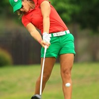 さすがはドラコン女王!パワフルです トヨタジュニアゴルフワールドカップ2015 2日目 マリア・ファッシ(メキシコ)