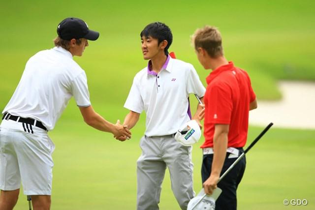 2015年 トヨタジュニアゴルフワールドカップ2015 Supported by JAL 3日目 日本男子チーム 男子もまだ諦めない!日本チームは2位で最終日へ