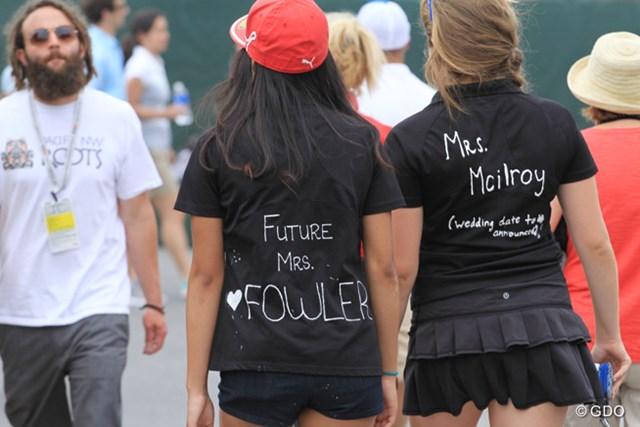 意味は?「将来のミス・ファウラー(左)」と「マキロイ婦人・結婚式は未定(右)」