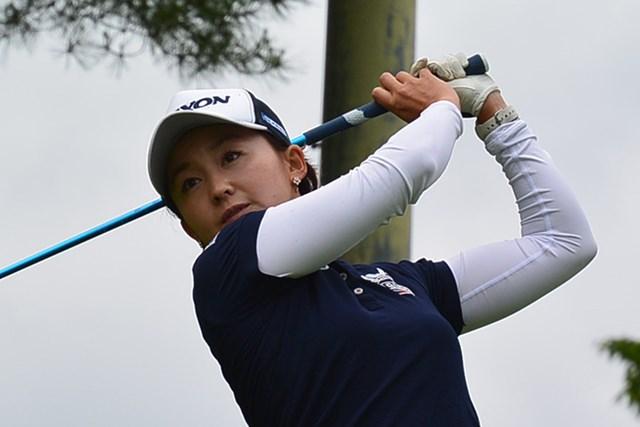 首位タイに浮上した櫻井有希*日本女子プロゴルフ協会提供