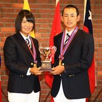 個人戦のメダリストも男女日本人独占! トヨタジュニアゴルフワールドカップ2015 最終日 松原由美 岡崎錬