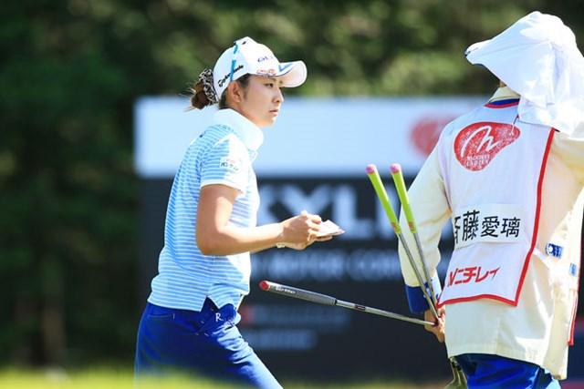 2位からの予選落ちで会場を去ることになった斉藤愛璃。しかし取材時の表情は晴れやかだった