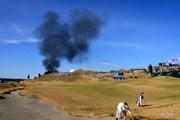 2015年 全米オープン 3日目 火事