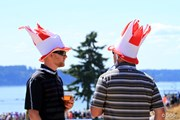 2015年 全米オープン 3日目 帽子