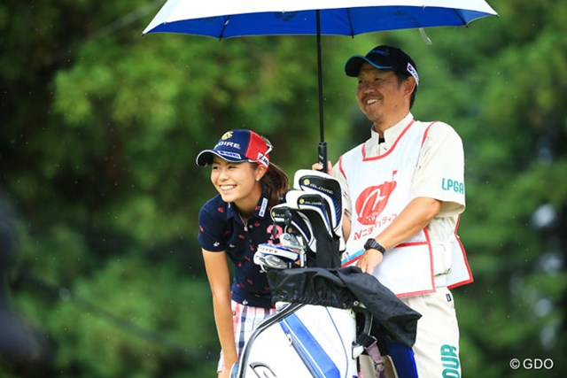 2015年 ニチレイレディス 最終日 松森彩夏 この笑顔を初優勝で見たいね