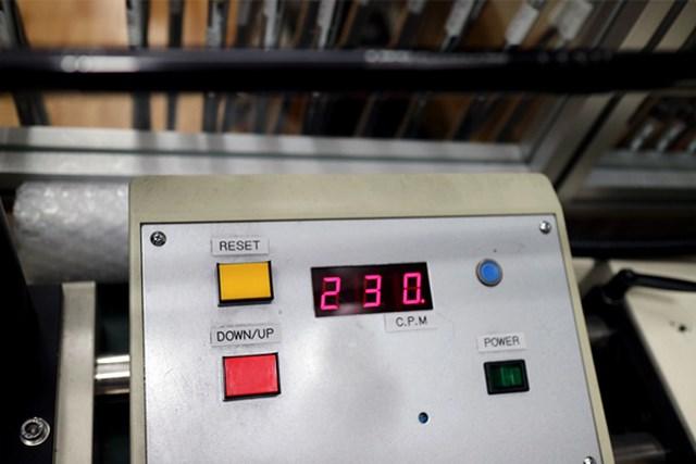 まさに「重・軟」70g台のRで振動数は230cpm。数値は低いが、挙動は驚くほど安定している