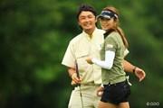 首位と1打差で最終日を迎える金田久美子。