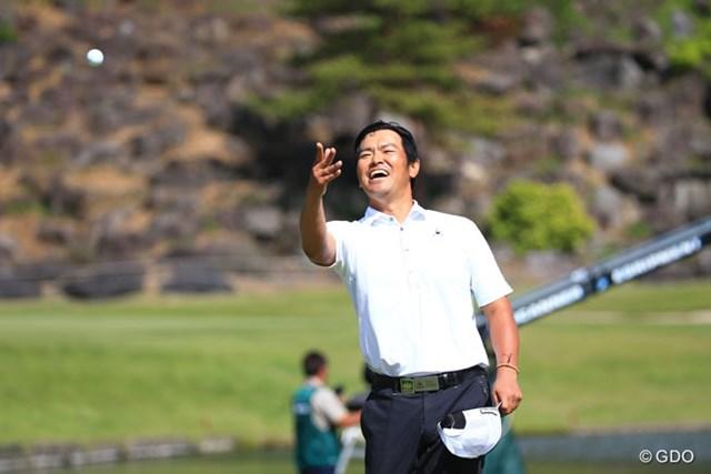 74ホールに及ぶ戦いを制して3年ぶりの優勝を飾った武藤俊憲