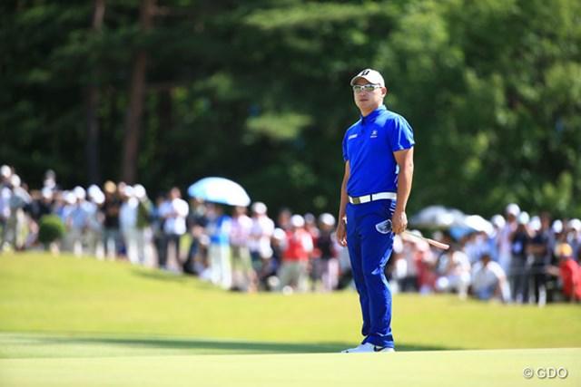 アジアンツアー3勝のフィリピン出身選手。初の日本ツアー優勝にあと一歩届かなかった