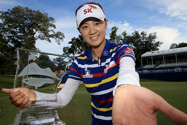 韓国のチェ・ナヨンが今季2勝目を挙げた(Sam Greenwood/Getty Images)