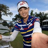 韓国のチェ・ナヨンが今季2勝目を挙げた(Sam Greenwood/Getty Images) 2015年 ウォルマート NW アーカンソー選手権 by P&G 最終日 チェ・ナヨン
