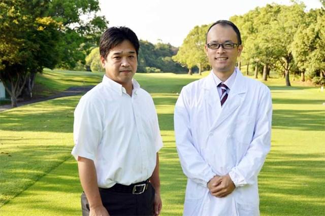 セントラルゴルフクラブの横山昌弘統括マネージャー。18歳で入社以来26年間ここで勤務し、数度のプロツアー開催も経験。このコースを隅々まで知り尽くしている。