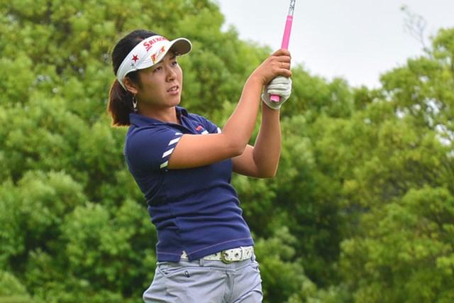 小竹莉乃が5アンダー単独首位でスタートした※画像提供:日本女子プロゴルフ協会