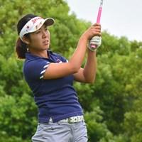 小竹莉乃が5アンダー単独首位でスタートした※画像提供:日本女子プロゴルフ協会 2015年 ABCレディース 初日 小竹莉乃