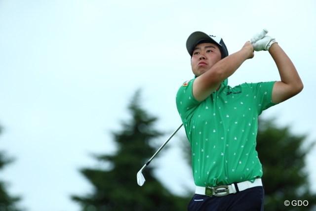 2015年 長嶋茂雄 INVITATIONAL セガサミーカップゴルフトーナメント 初日 古田幸希 雨天の中、午後組の最終組から上位に飛び込んだ古田幸希
