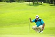 2015年 長嶋茂雄 INVITATIONAL セガサミーカップゴルフトーナメント 2日目 カート・バーンズ