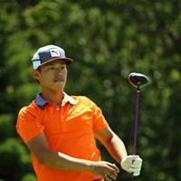 帽子がデカイのか顔が小さいのか。 2015年 長嶋茂雄 INVITATIONAL セガサミーカップゴルフトーナメント 2日目 中西直人