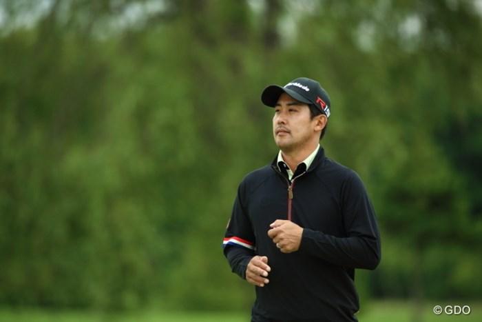 シャイなのかな?絶対目をそらす 2015年 長嶋茂雄 INVITATIONAL セガサミーカップゴルフトーナメント 3日目 J.B.パク