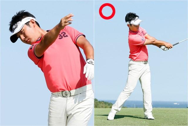 (画像8枚目) シャフトのしならせ方「叩く」or「振り切る」、どっち? 投げる方向は「ターゲット方向」が正解!