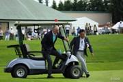 2015年 長嶋茂雄 INVITATIONAL セガサミーカップゴルフトーナメント 最終日 長嶋茂雄大会名誉会長