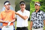 2015年 ミュゼプラチナムオープンゴルフトーナメント 事前 小林正則、服部リチャード、塚田陽亮