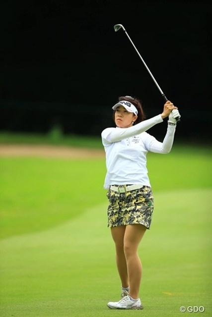 日本人選手トップの世界43位で大山志保は全米女子オープンに挑む ※撮影は2015年「アースモンダミンカップ」