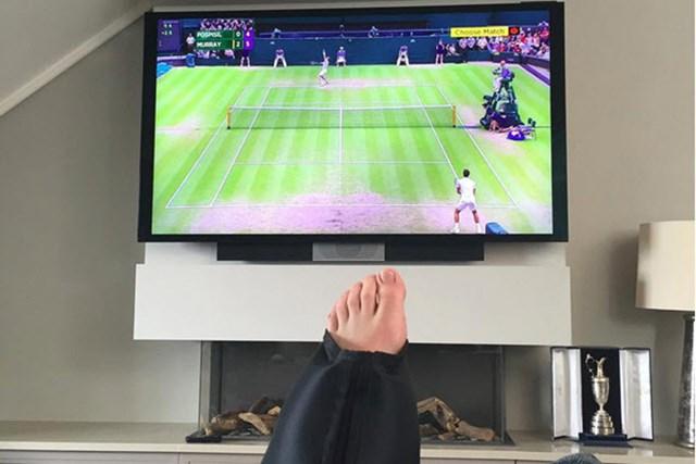 ロリー・マキロイは全英オープン欠場を表明した(Rory McIlroy/Instagram)