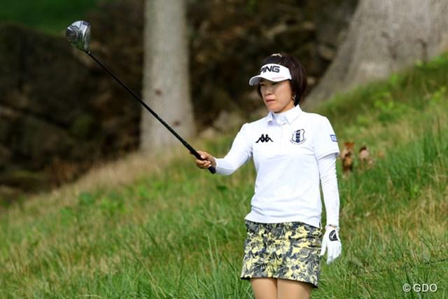 09年以来、6年ぶり3度目の全米女子オープンとなる大山志保