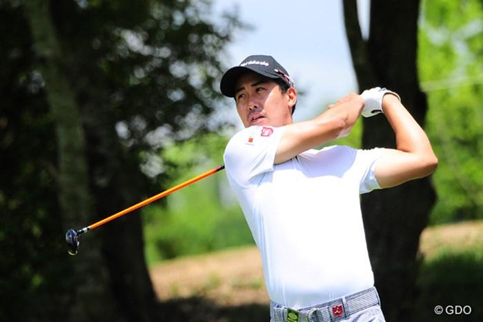 「何が良いのか分からない」としながらも、前週に続き首位争いに加わっているJ.B.パク 2015年 ミュゼプラチナムオープンゴルフトーナメント 2日目 J.B.パク