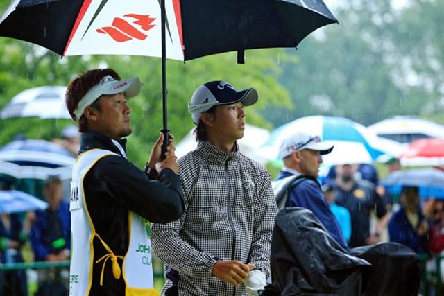 石川遼はショットに苦しみ3日目に大きく後退した(Michael Cohen/Getty Images)