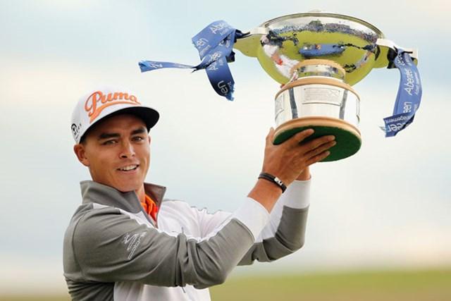 欧州ツアー初優勝は、翌週の「全英オープン」に弾みをつける1勝となった(Mike Ehrmann/Getty Images)