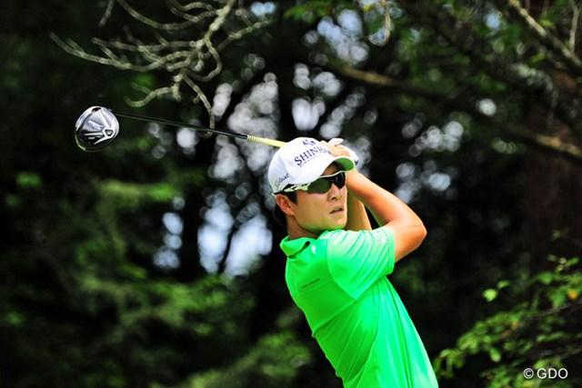 2015年 ミュゼプラチナムオープンゴルフトーナメント 最終日 キム・キョンテ キム・キョンテが今季2勝目に一番乗りし、賞金ランクトップに躍り出た