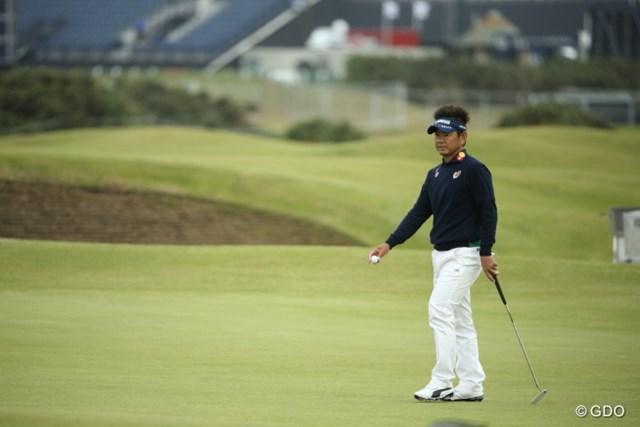 2バーディ、1ボギーと極めて静かなゴルフを見せた藤田寛之