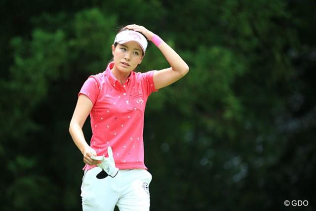 モデルオーデションに出てる美里ちゃんの姉、今日のゴルフはちょっと出遅れ・・・